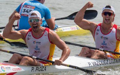 Pedro Vazquez llenín – Medalla de plata Mundial K2-500